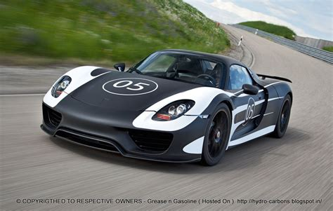 electric porsche 918 video porsche 918 spyder first ride way2speed