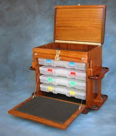 plans   wooden fishing tackle boxwould   great