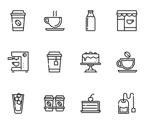 Cups Coffee Shop coffee cup icons 1 140 free vector icons