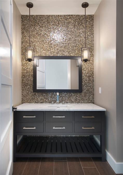 Ideas For Powder Rooms by Can You Mix Metal Finishes In The Bathroom