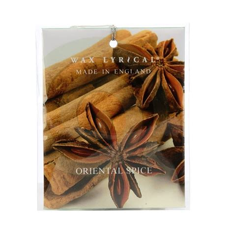 oriental spice scented car room air freshener sachet