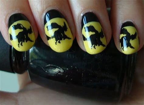 natural nail art tutorial nail art tutorial witch nails swatch and learn