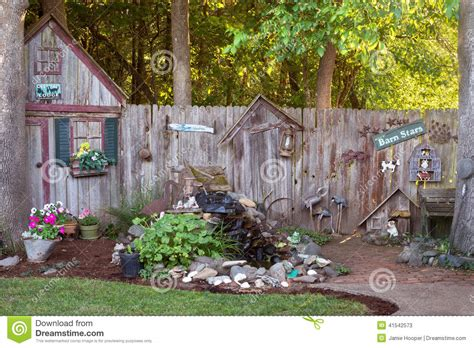country backyard backyard country stock photo image 41542573
