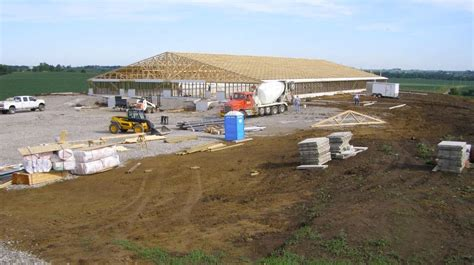 Livestock Barns Building A Bright Future Time Lapse Of Construction Of A