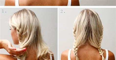 hairstyles for medium length hair no heat 20 easy no heat summer hairstyles for girls with medium