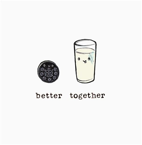 better together oreo and milk better together uy illustrations