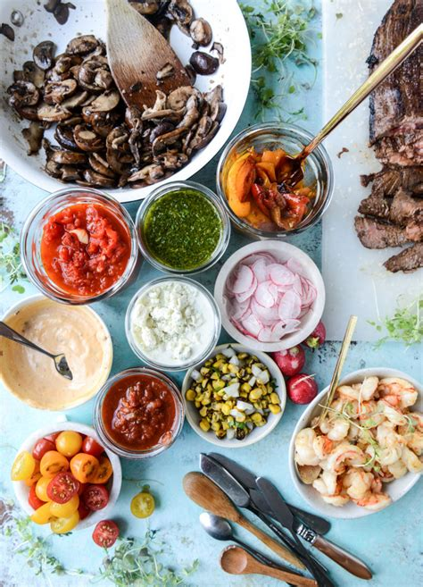 marinated grilled flank steak with our favorite toppings for father s day how sweet it is