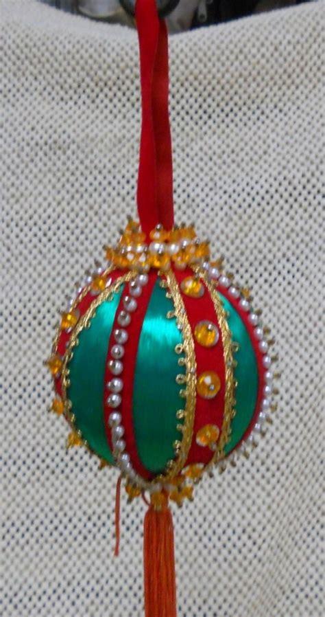 Handmade Vintage Ornaments - vintage handmade ornaments