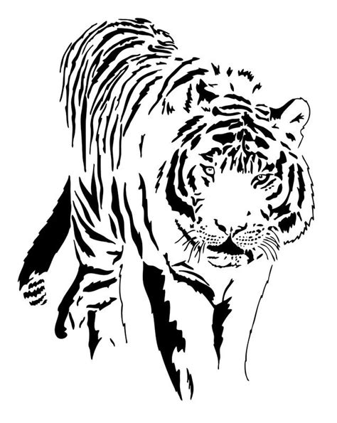 tiger tattoo outline designs white tiger designs ideas gallery