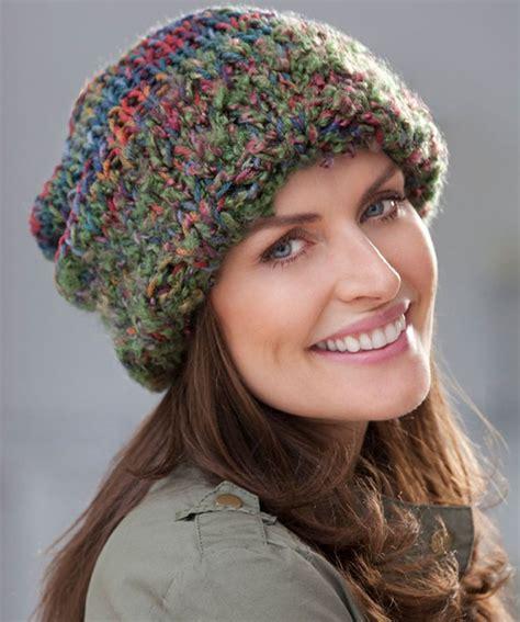 knitting pattern bulky yarn hat urban jungle hat make it knit crochet pinterest