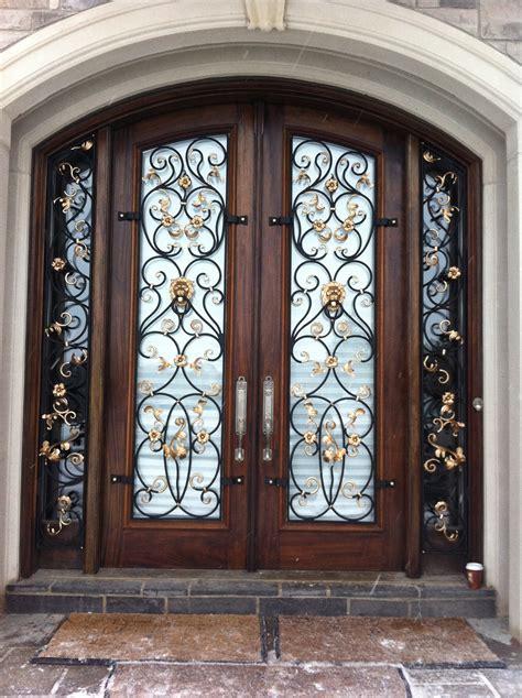 wrought iron doors design  exterior door whomestudio