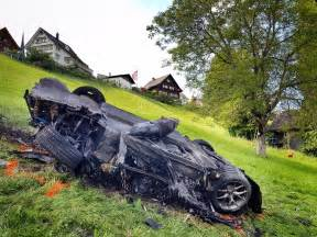 Electric Car Wreck Richard Hammond In Serious Crash Electric Rimac Concept