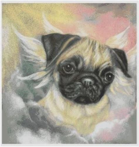 pug chart pug de cross stitch chart jannz crafts