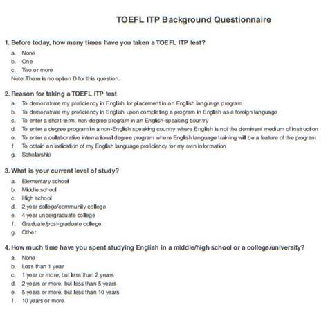 toefl test sle test toefl itp 2018 2019 student forum