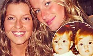 Birthday girl gisele bundchen lavishes twin sister patricia with love