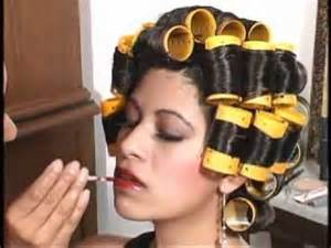 sisyin hairrollers laura s tranformation youtube