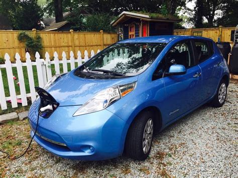 used nissan leaf prices with a used nissan leaf the month treehugger