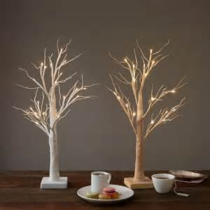 tabletop trees led tabletop trees west elm