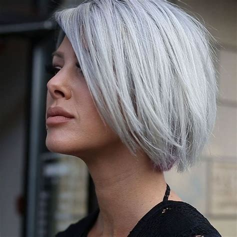 gray hair color shades 25 beautiful cut and color ideas on black