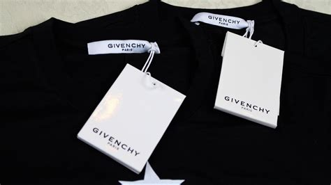 real  fake givenchy tshirt guide authentic  replica