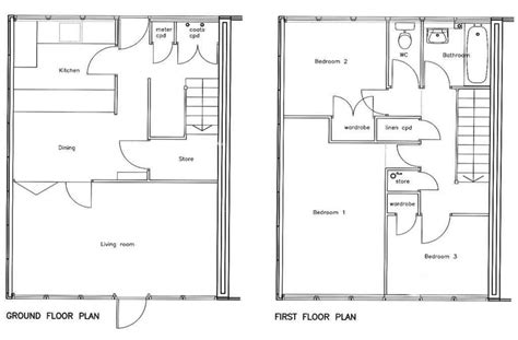 3 bed house floor plan 3 bedroom house floor plan 171 berecroft residents association