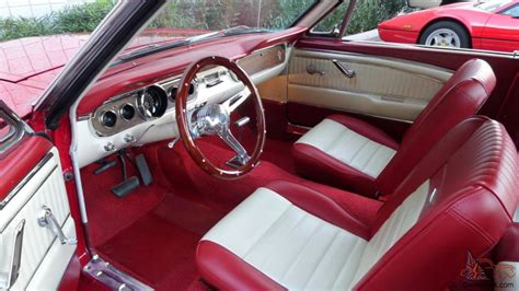 mustang pony interior 1965 ford mustang fastback v8 automatic pony interior rust