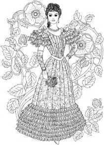 fashion coloring books welcome to dover publications creative nouveau