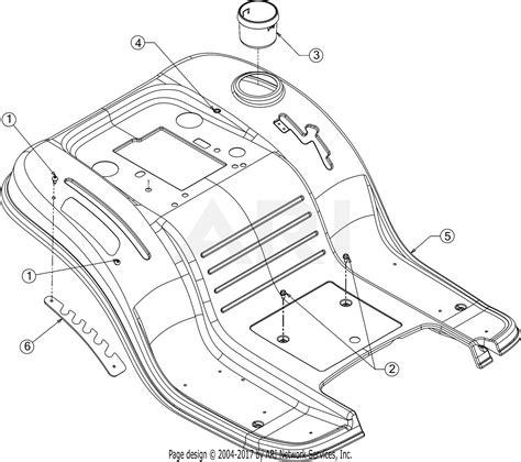 troy bilt horse xp cxkt  parts diagram
