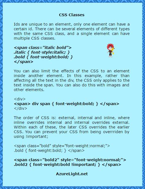 tutorial css class css classes tutorial by mikaristar on deviantart