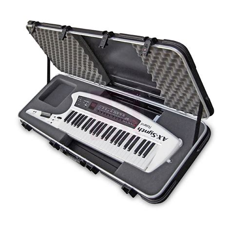 Keyboard Roland Ax Synth roland ax synth synthesizer keytar keyboard w skb reverb