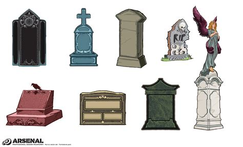 Mansion Layouts by Tombstone Vector Pack By Go Media S Arsenal