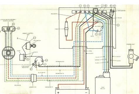 125 hp outboard wiring diagram 125 free engine