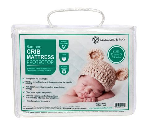 Crib Mattress Wrapping Delicate Two Waterproof Fitted Crib Toddler Protective Mattress Pad Covers Organic Bamboo Www