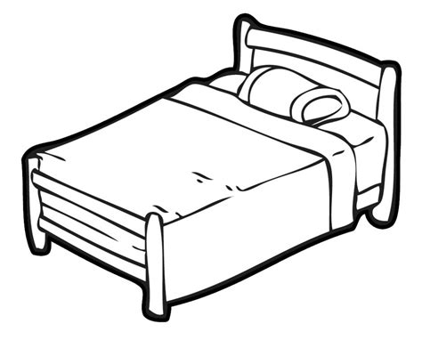 pic of bed bed clipart clipartion