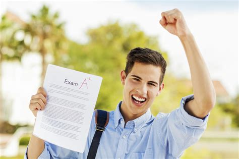 Happy Student how to celebrate your results student at