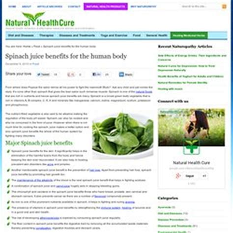 Spinach Detox Benefits by Detox Pearltrees