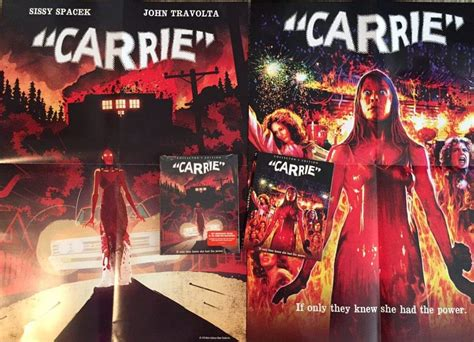 scream factory slipcovers explore the power of carrie with scream factory s new blu