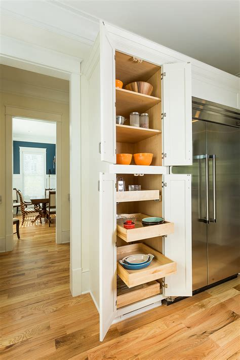 kitchen pantry cabinets  pull  trays shelves