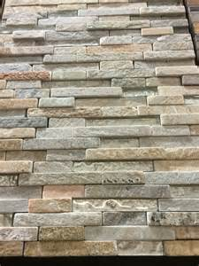 harvest moon interlocking tile backsplash found at home