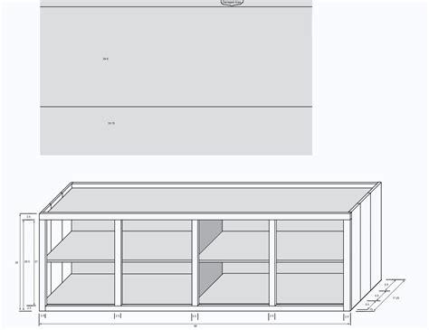 credenza plans plans diy   wood rabbit cage