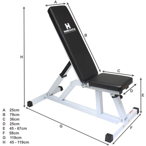 workout bench dimensions adjustable weight bench heavy duty squat frame rack