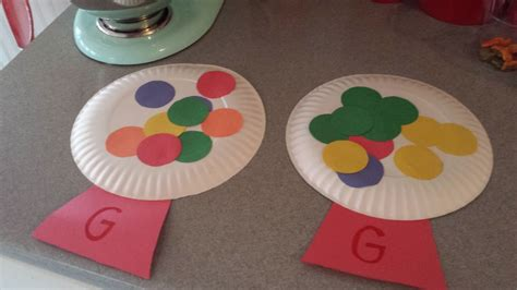 pattern crafts for kindergarten letter g crafts preschool and kindergarten