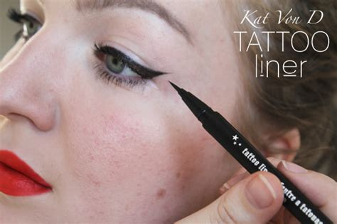 tattoo liner makeup veracamilla nl kat von d tattoo liner in trooper