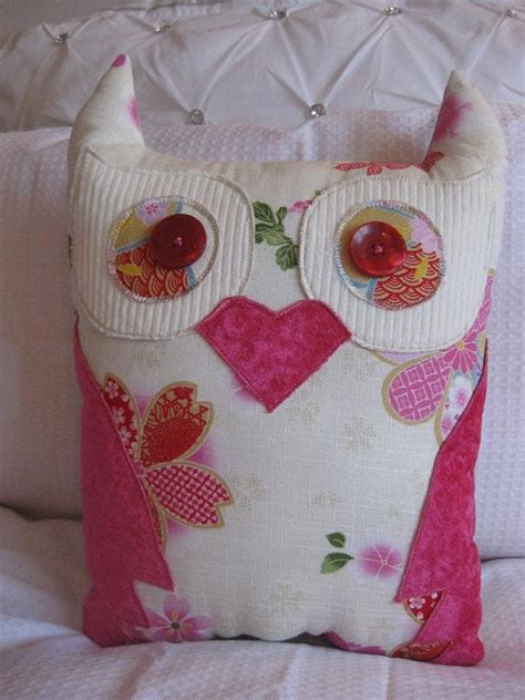 Handmade Owl Cushion - owl cushion handmade by coushicreations on etsy 35 00