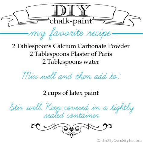 chalkboard paint not smooth furniture makeover mixing up diy chalk type paint recipes