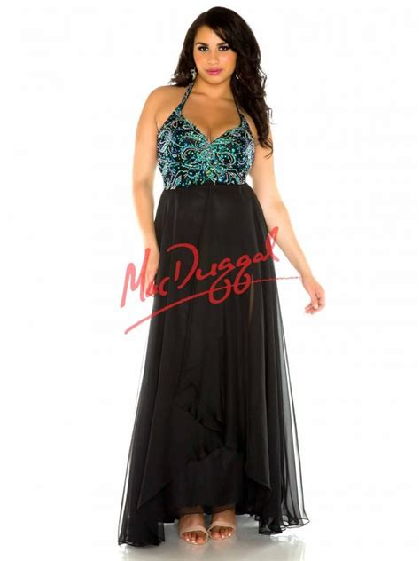 Mac Formal Black Collection by Black And Peacock Prom Dress Plus Size Dress Mac