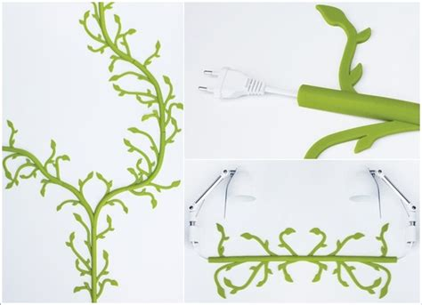 10 creative electrical cord wall decoration ideas