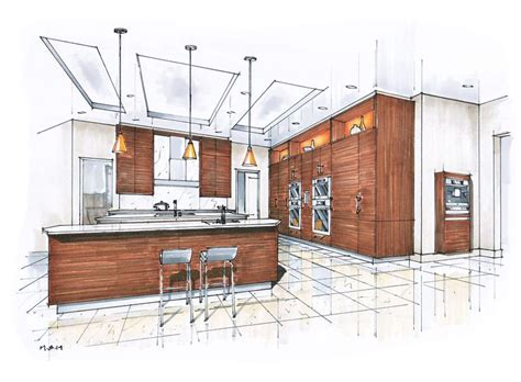 interior sketches 239 best design drawings images on pinterest sketch
