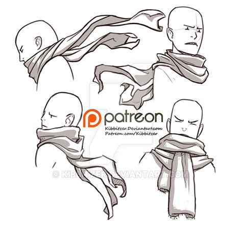 Drawing References by Scarves Reference Sheet By Kibbitzer On Deviantart