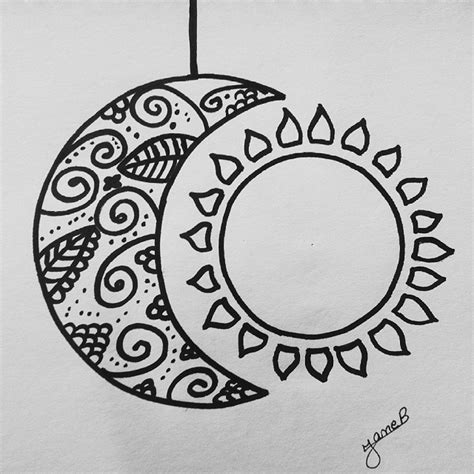 moon pattern tumblr drawn moon easy pencil and in color drawn moon easy